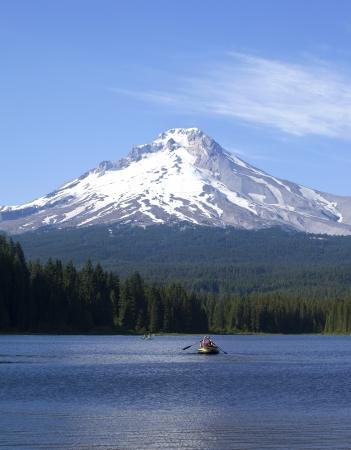 Trillium lake and mt  Hood excursions, Oregon  photo