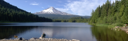 excursions: Trillium lake and mt  Hood excursions, Oregon