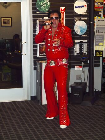 representations: Portland May 24  New store opening Elvis impersonator May 24-2012 in Portland Oregon
