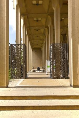 balboa: Museum entrance in balboa Park San Diego california
