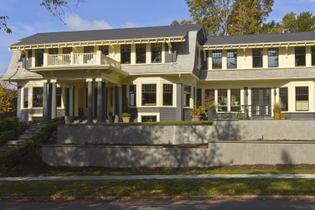 Large mansion complex Queen Anne area Seattle WA  Stock Photo - 22947970