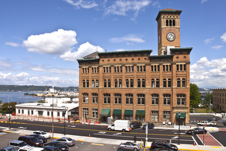 tacoma: Clock tower building in Tacoma Washington