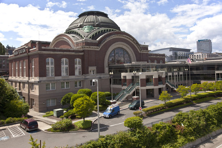 tacoma: Union station and court house in Tacoma Washington