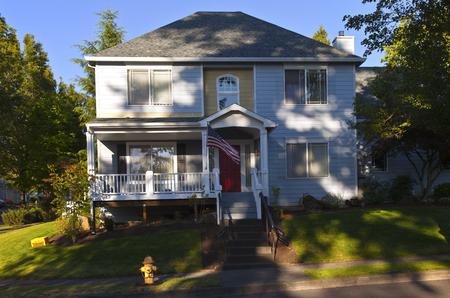 House in a neighborhood Gresham Oregon
