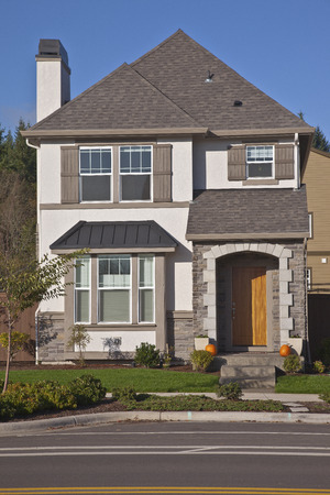 residential construction: Family home new construction in Wilsonville Oregon.