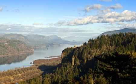 Columbia River Gorge paisaje panorama Oregon. Foto de archivo - 35606973