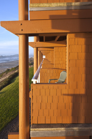 newport: Lodging with a view Newport Oregon.
