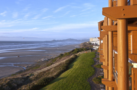 lodging: Lodging with a view Newport Oregon.