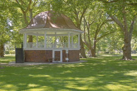 washington state: Public park and a large gazebo arena in Walla Walla Washington state.