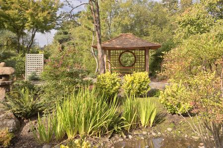 Japanese garden and park in Gresham Oregon.