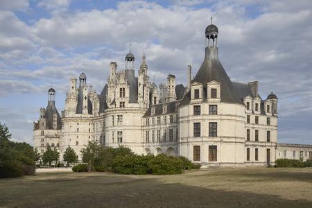 Château de Chambord landmark castle in France