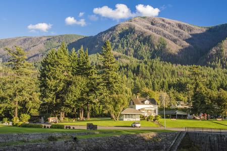 Stevenson Oregon public park and museum Columbia River Gorge. Sajtókép