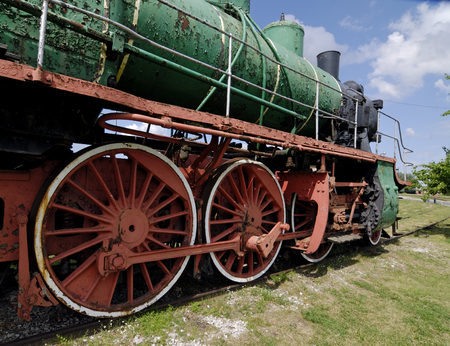 social history: Part of locomotive