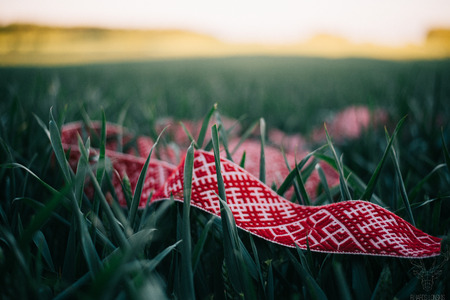 Latvian folk belt
