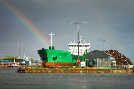 Industrial Dock Stock Photo - 5415469