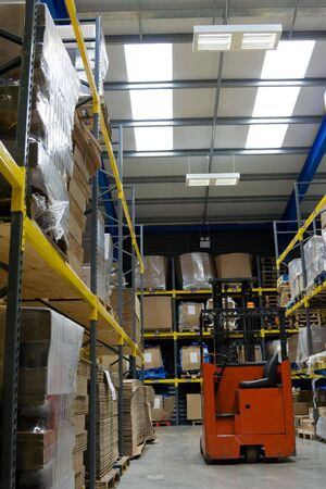 industrial Warehouse with forklift Stock Photo - 5529612