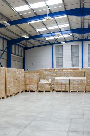 industrial Warehouse Interior Stock Photo - 5529613