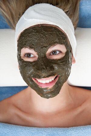 seaweed beauty mask photo