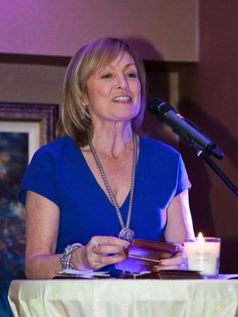 speach: BALLINASLOE - DECEMBER 5: Opening speach by Mary Kennedy,  RTE celebrity , at official Launch of Heather & Earth by C Spa in Carlton Shearwater Hotel on December 5, 2011 in Ballinasloe, Ireland.
