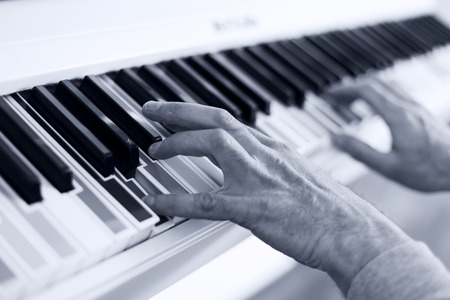 multy: Learning to Play white piano with multy colour keys