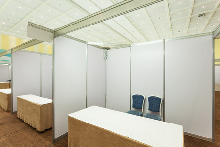 office furniture trade shows. #43529102 - Trade Show Interior With Booth And Tables Office Furniture Shows H