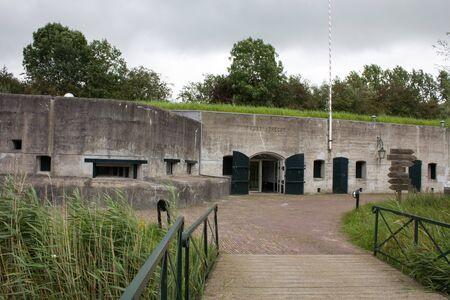 netherlands: Old fort in the Netherlands
