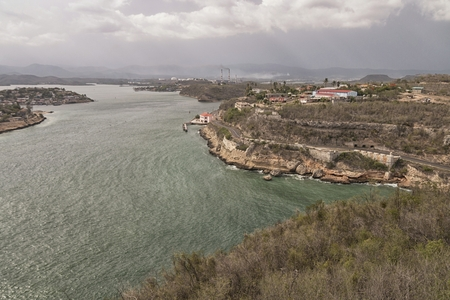 A view over Cuba from Fort El Morro. Stock Photo