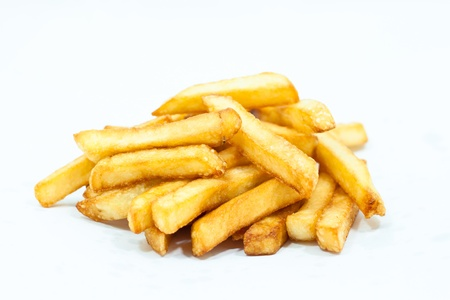 french fries: french fries Stock Photo