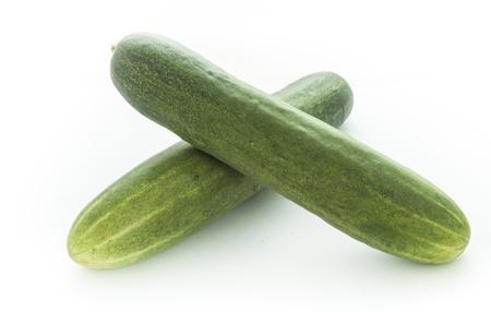 cucumber on white