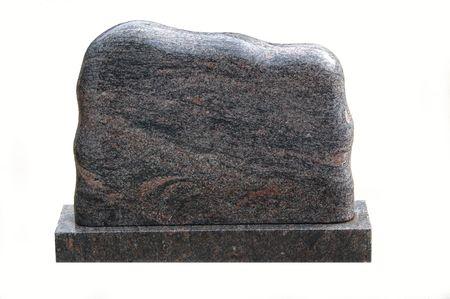headstones:                     Blank Tombstone
