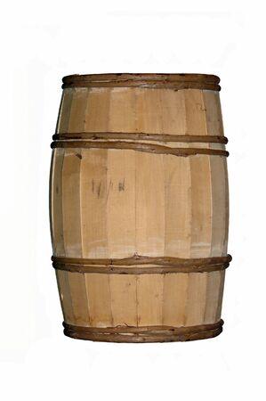 Wooden vintage barrel Standard-Bild