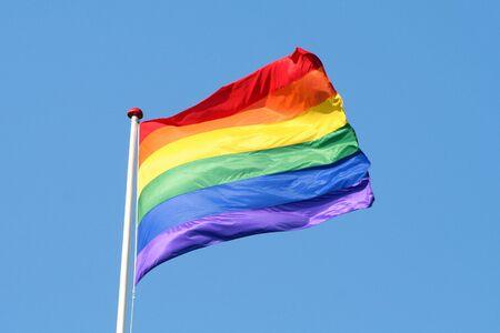 Rainbow flag pride symbol