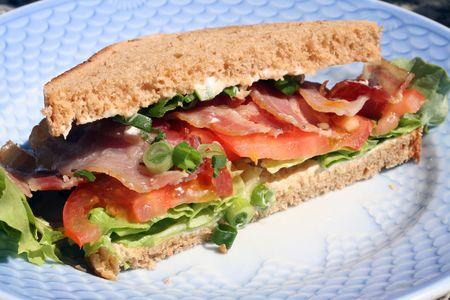 delicious blt sandwich