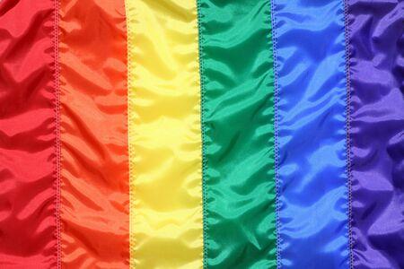 rainbow flag photo