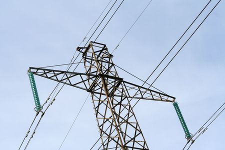 líneas eléctricas  Foto de archivo - 6923117