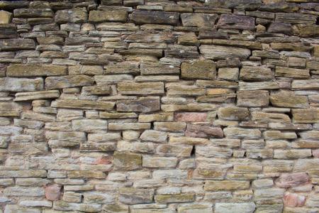 screen savers: An Uneven RockStoneBrick Wall