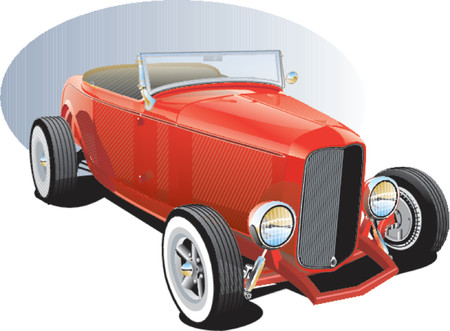 hotrod: Red Hotrod