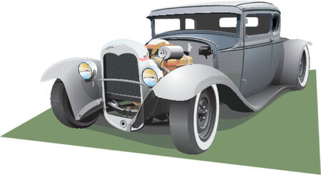 tiges: Hot Rod Gray