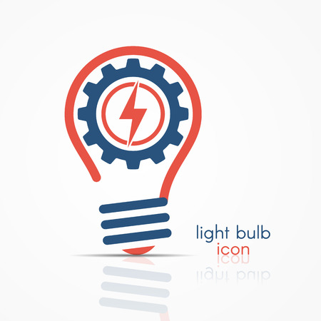 Glühbirne Idee Symbol. Glühlampe, Glühlampezeichen, Glühlampesymbol ...