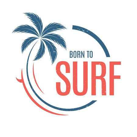 서핑하기 위해 태어났다.