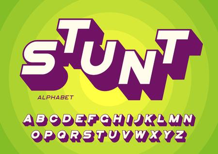Lettres non décorées de lettres majuscules avec ombre Banque d'images - 95217980