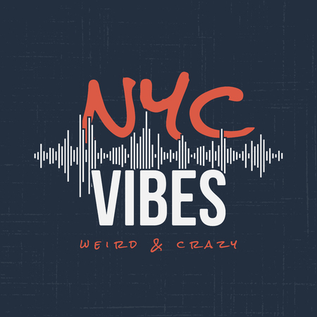 New York vibes. T-shirt and apparel vector design, typography, p