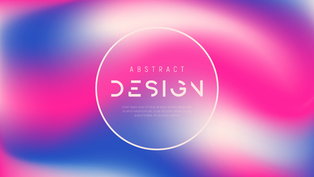 Vector abstract colorful background, trendy futuristic gradient design, minimalist liquid style compostion. Global swatches.