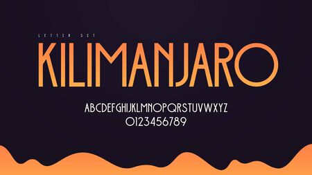 Modern art deco vector alphabet, uppercase letter set, font, typography Standard-Bild - 130026317
