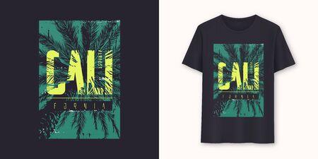 Perfect California stylish graphic t-shirt vector design, poster, typography 일러스트