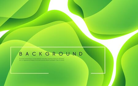 Colorful abstract minimalist vector background with glowing fluid shapes