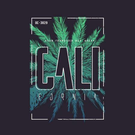 California San Francisco vector t-shirt design, poster, print.