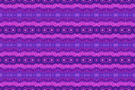 Beautiful neon color web background with abstract tribal seamless pattern 矢量图像