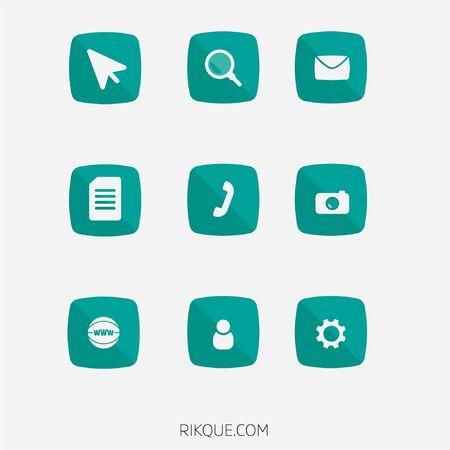 Phone icons 向量圖像
