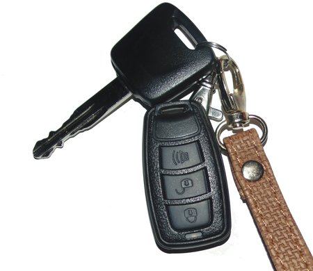 keyless: car keys with decoration